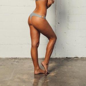 Kaohs Plaid VALENTINA Skimpy Bikini Bottom